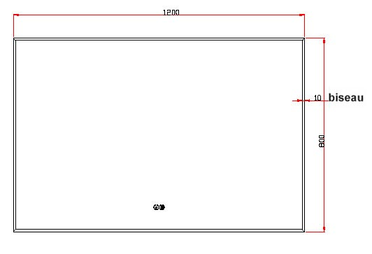 TECHNICAL DRAWING schema-miroir-pure-120x80