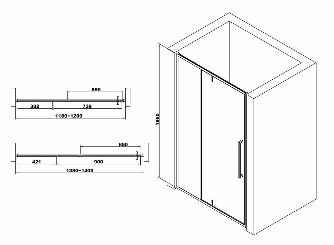 TECHNICAL DRAWING schema-paroi-pivotante-et-fixe