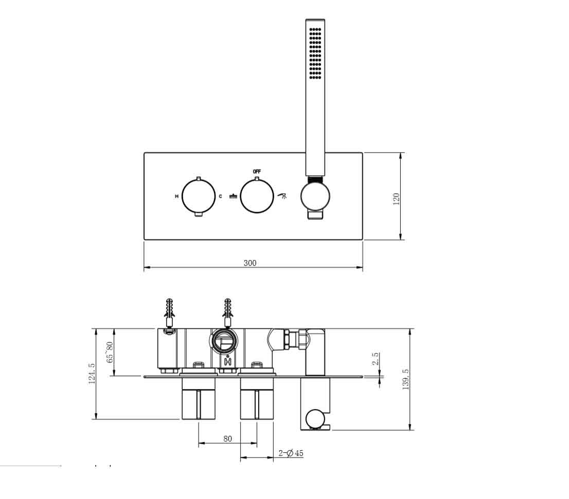 TECHNICAL DRAWING 1. schema carrousel robinet ther