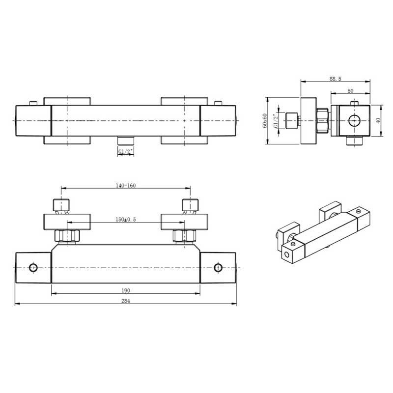 TECHNICAL DRAWING schéma tuilerie thermo dou.ext