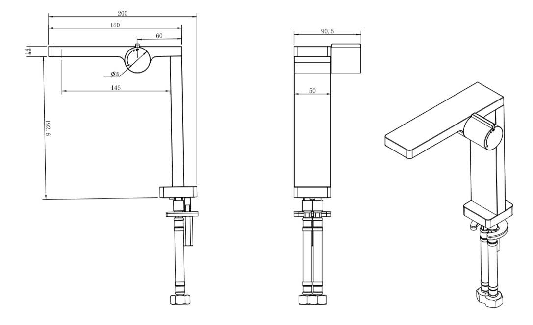 TECHNICAL DRAWING schema-robinet-carrousel