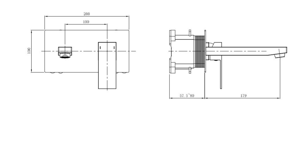 TECHNICAL DRAWING schema-tuileries-lavabo-encastre