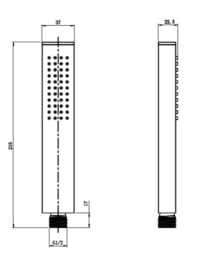 TECHNICAL DRAWING schema-douchette-tuileries