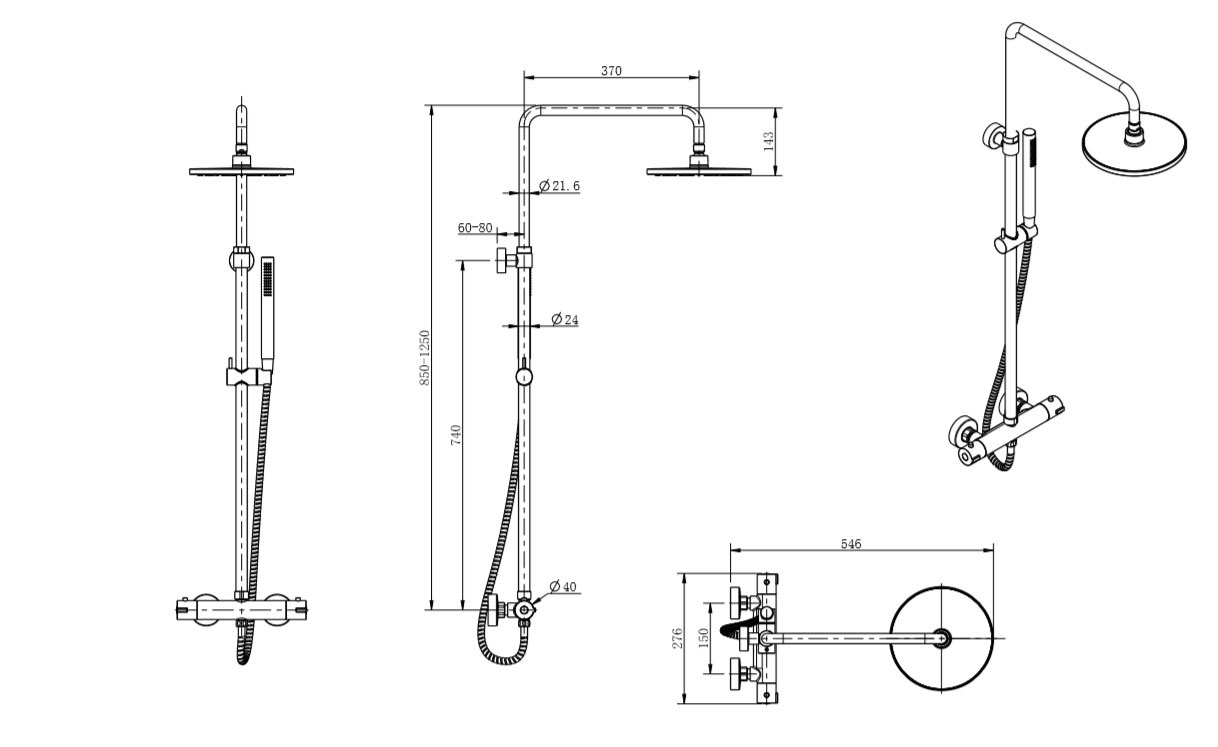 TECHNICAL DRAWING schema-colonne-chatelet