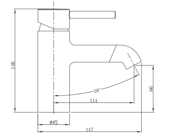 TECHNICAL DRAWING schema-Châtelet lavabo