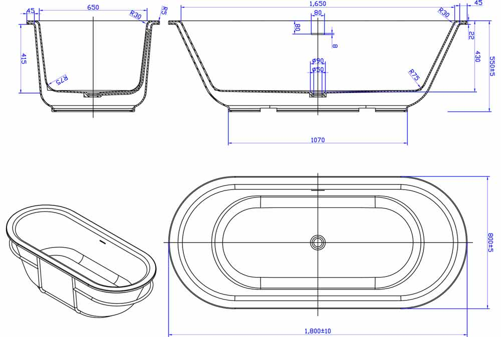 TECHNICAL DRAWING schema-circle