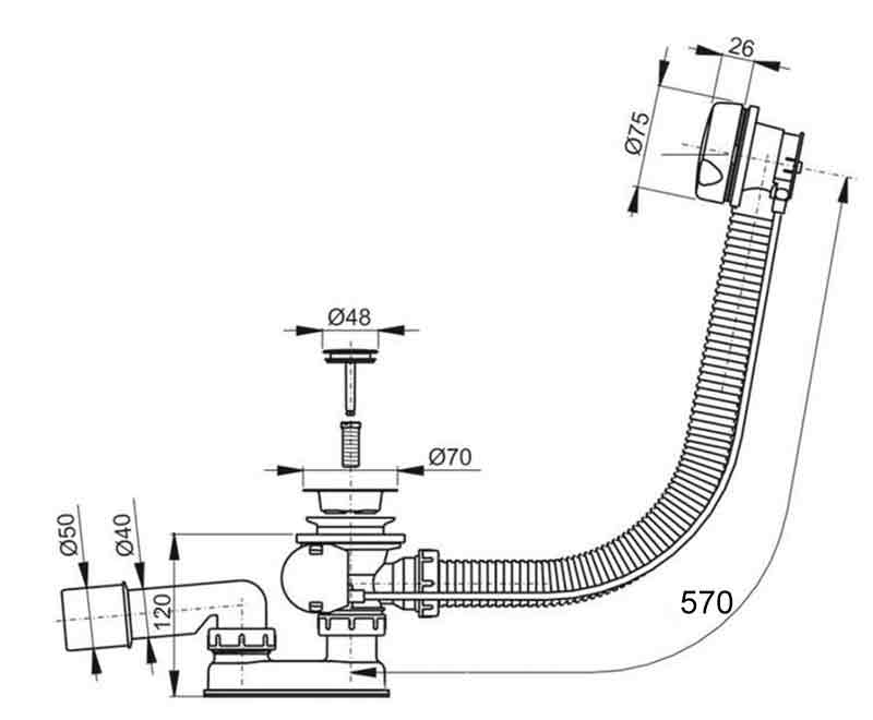 TECHNICAL DRAWING schema-vidage-VPWAS0011-01