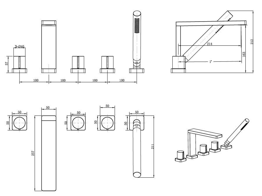 TECHNICAL DRAWING schema_13341_carrousel