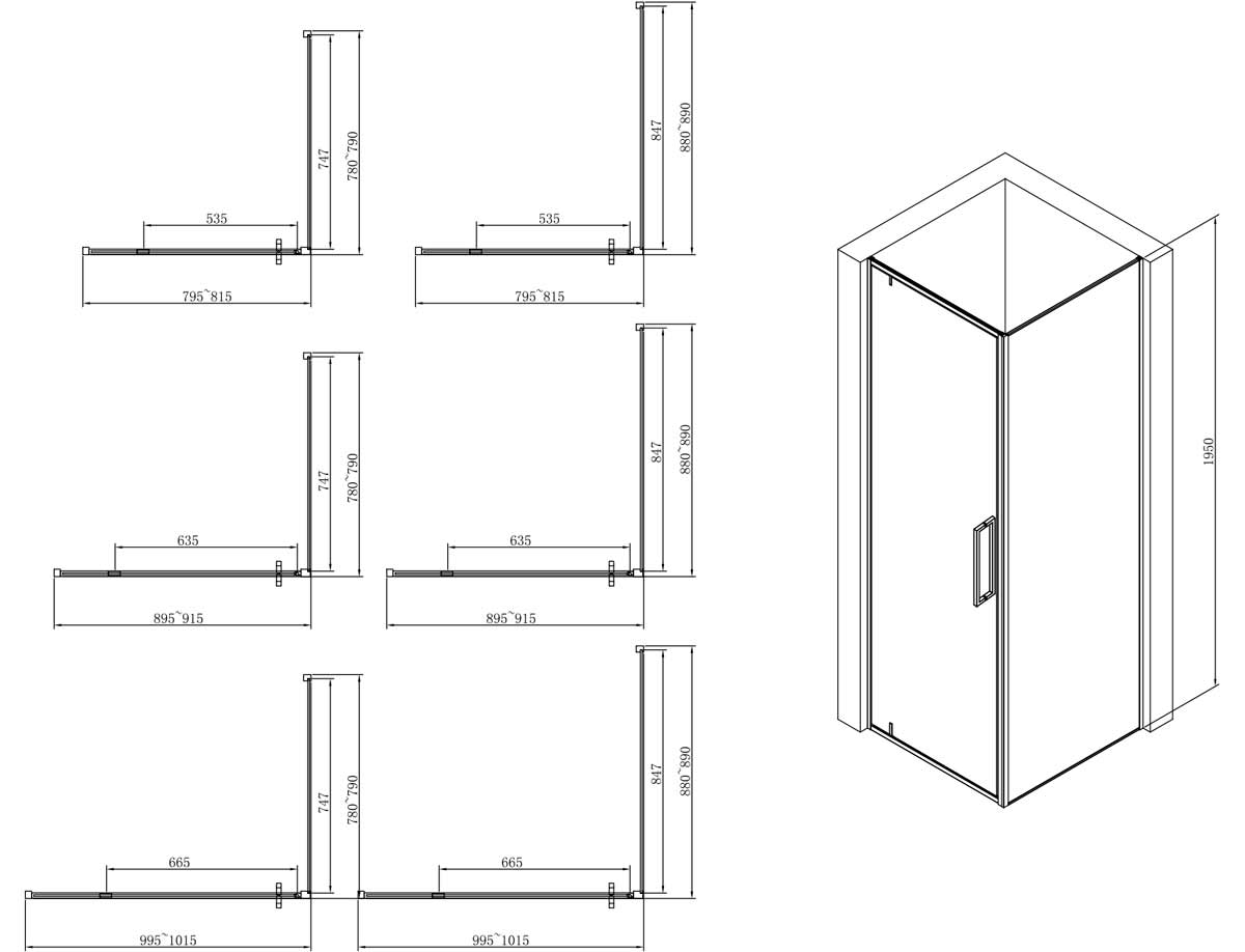 TECHNICAL DRAWING schema-arena 80 90 100