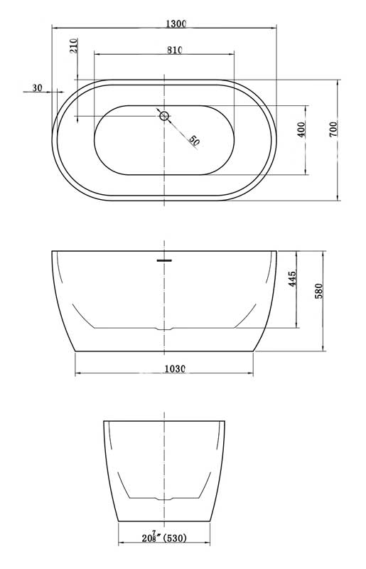 TECHNICAL DRAWING calipso-130