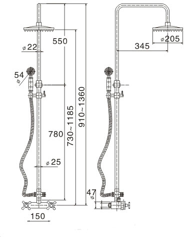 TECHNICAL DRAWING schema-technique-colonne-de-douc
