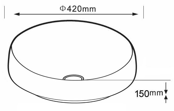 TECHNICAL DRAWING schema-vasque-goias