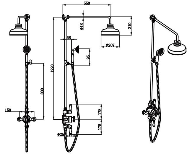 TECHNICAL DRAWING schema-colonne-thermo-diana