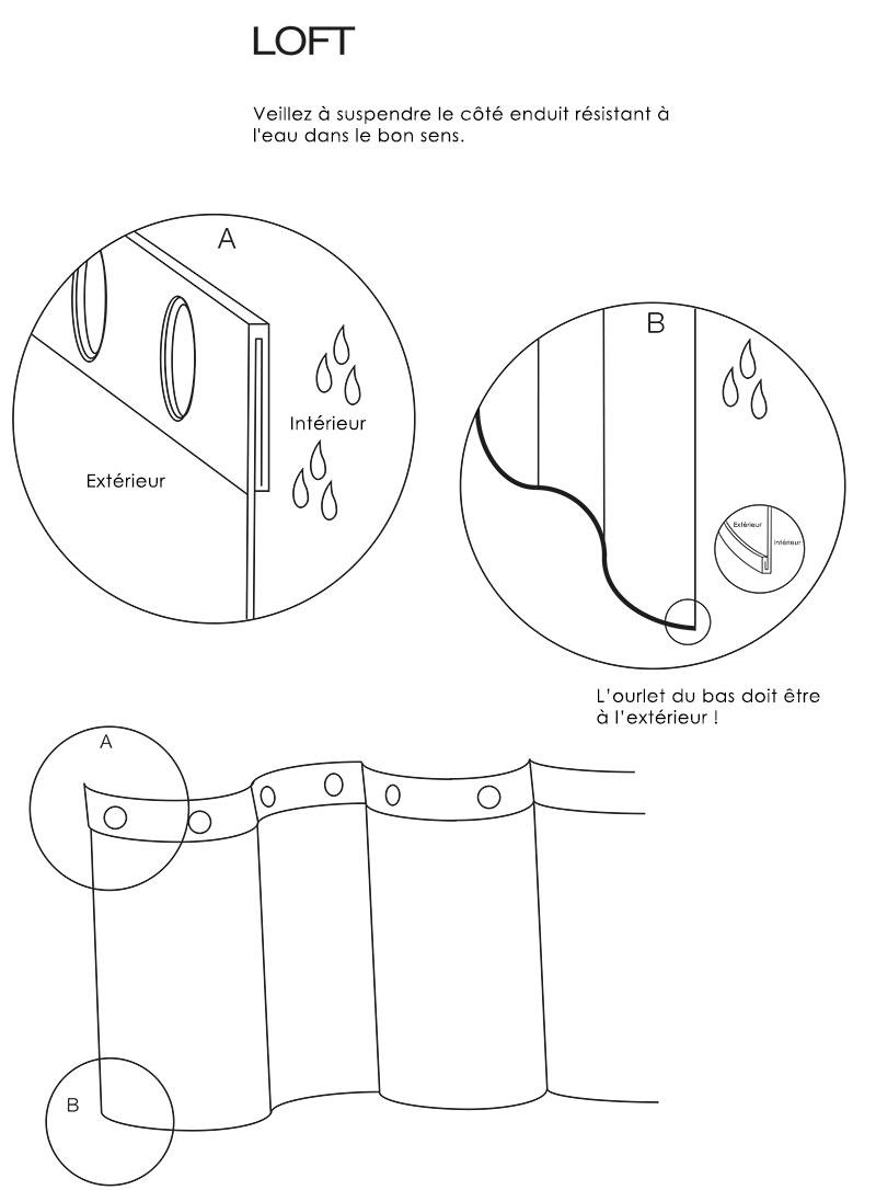 TECHNICAL DRAWING installation-rideau-loft