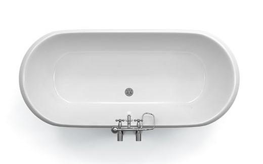 baignoire ilot en fonte 170x77 cm peinte en noir london. Black Bedroom Furniture Sets. Home Design Ideas