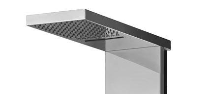 panneau de douche hydromassant bless mitigeur cascade. Black Bedroom Furniture Sets. Home Design Ideas