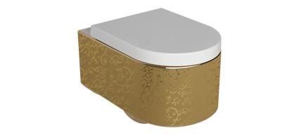 wc suspendu orba gold abattant. Black Bedroom Furniture Sets. Home Design Ideas