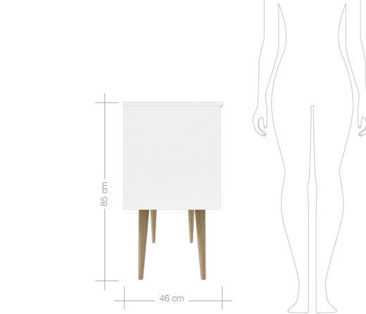 Meuble de salle de bain 120 cm poser britannia et for Miroir 40x120