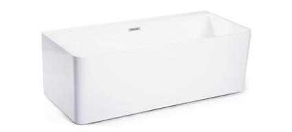 baignoire lot contre mur 150 x 71 cm ou 170 x 75 cm acrylique olia. Black Bedroom Furniture Sets. Home Design Ideas