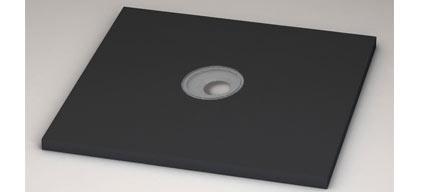 receveur de douche carreler 120x90 cm red coupable doccia square. Black Bedroom Furniture Sets. Home Design Ideas