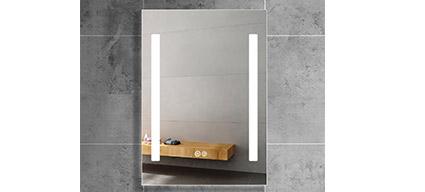 Miroir clairant led 140x80 cm luce - Miroir salle de bain 140x80 ...