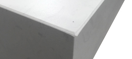 plan vasque salle de bain suspendu 101x46 cm pierre calacatta. Black Bedroom Furniture Sets. Home Design Ideas